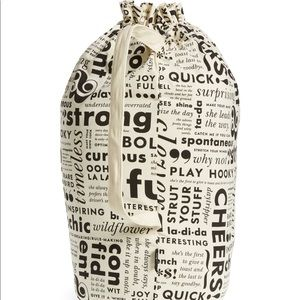 Kate Spade What do You Say Laundry Bag